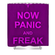 Now Panic 14 Shower Curtain