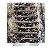 Nowhere Stairs Shower Curtain