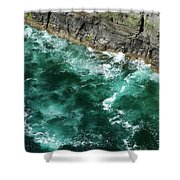 Nowhere To Go Cliffs Of Moher Ireland Shower Curtain