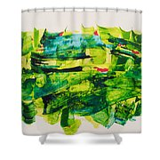 Nowruz Shower Curtain