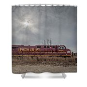 Ns 8104 Lehigh Valley At Booneville In Shower Curtain