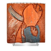 Nsitula - Tile Shower Curtain