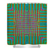 Nu Wall Rug Design Shower Curtain