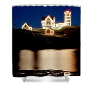 Nubble Stars Shower Curtain