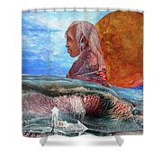 Nubian Dream  Shower Curtain