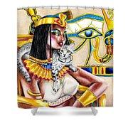 Nubian Queen Shower Curtain