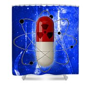Nuclear Medicine Shower Curtain