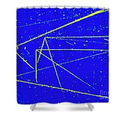 Nuclear Particle Tracks Shower Curtain