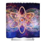 Nuclear World Shower Curtain
