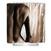 Nude 028r Shower Curtain