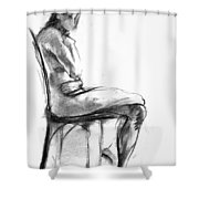 Nude 1 Shower Curtain