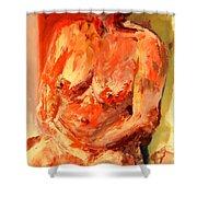 Nude 1.0 Shower Curtain