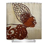 Nude 11 - Tile Shower Curtain