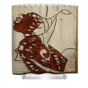 Nude 12 - Tile Shower Curtain