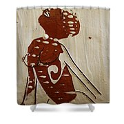 Nude 13 - Tile Shower Curtain