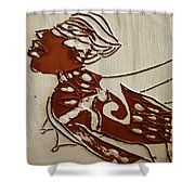 Nude 2 - Tile Shower Curtain