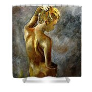 Nude 27 Shower Curtain
