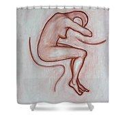 Nude 3 Shower Curtain