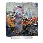 Nude 363602 Shower Curtain