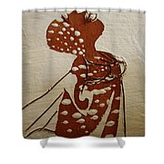 Nude 4 - Tile Shower Curtain