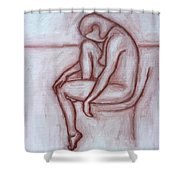 Nude 41 Shower Curtain