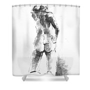 Nude 44 Shower Curtain