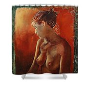Nude 458755 Shower Curtain