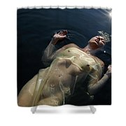 Queen Of The Lake Shower Curtain