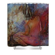 Nude 569090 Shower Curtain