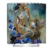 Nude 67 Shower Curtain