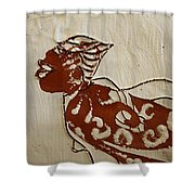 Nude 7 - Tile Shower Curtain