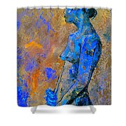 Nude 7551 Shower Curtain