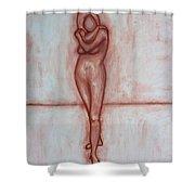 Nude 9 Shower Curtain