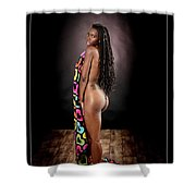 Nude African Woman 1728.069 Shower Curtain