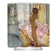 nude against the light 1908 Pierre Bonnard Shower Curtain
