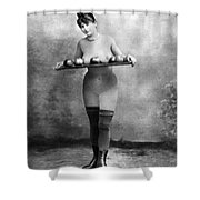 Nude And Apples, C1880 Shower Curtain