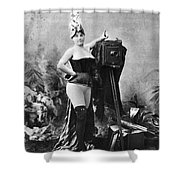 Nude And Camera, C1880 Shower Curtain