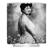 Nude And Flowers, 1903 Shower Curtain
