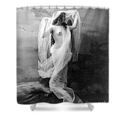 Nude, C1900 Shower Curtain