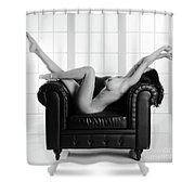Nude Chair Shower Curtain