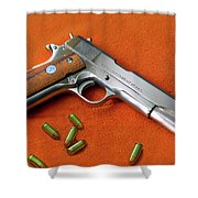 Nude Colt 45 Shower Curtain