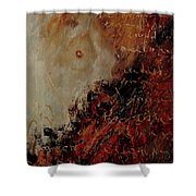 Nude Coming Out Of Abstraction Shower Curtain