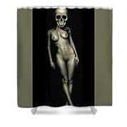 Nude Death 8 Shower Curtain