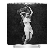Nude Floating, 1890s Shower Curtain