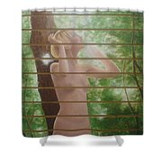 Nude Forest Shower Curtain
