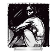 Nude Girl 1 Shower Curtain