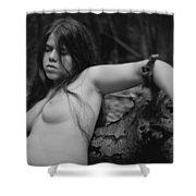 Nude In Nature 1 Shower Curtain