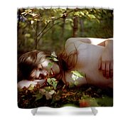 Nude In Nature 4 Shower Curtain