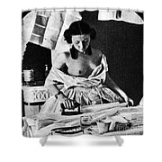 Nude Ironing, C1861 Shower Curtain