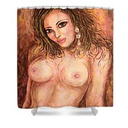 Nude Lady Shower Curtain